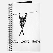 Vintage Extreme Skier (Custom) Journal