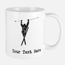 Vintage Extreme Skier (Custom) Mugs