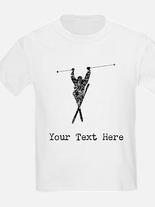 Vintage Extreme Skier (Custom) T-Shirt