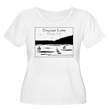 cayuga sail.png Plus Size T-Shirt