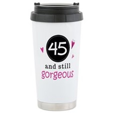Unique 45th birthday Travel Mug