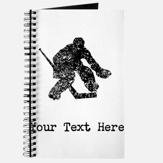 Vintage Hockey Goalie (Custom) Journal