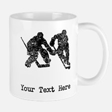 Vintage Hockey Players (Custom) Mugs