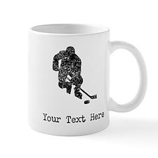 Vintage Hockey Player (Custom) Mugs