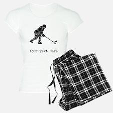 Vintage Hockey Player (Custom) Pajamas