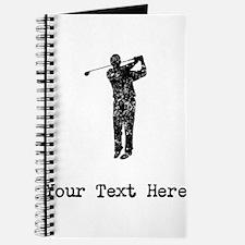 Vintage Golf Swing (Custom) Journal