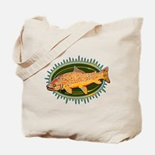 Tiger Trout Tote Bag