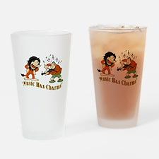 King Of Jazz Cartoon Drinking Glass