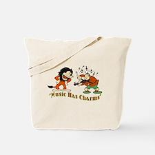 King Of Jazz Cartoon Tote Bag