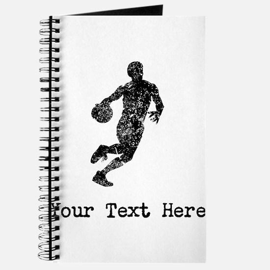 Vintage Basketball Player (Custom) Journal