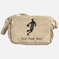 Vintage Basketball Player (Custom) Messenger Bag