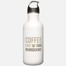 Coffee Then Neuroscien Water Bottle