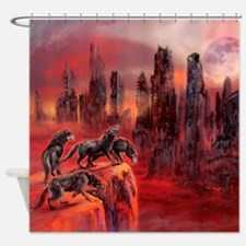 Wolves Of Future Passed Shower Curtain