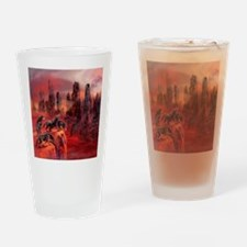 Wolves Of Future Passed Drinking Glass