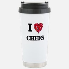 I love Chefs Travel Mug