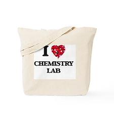 I love Chemistry Lab Tote Bag