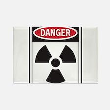 Danger Radiation Magnets