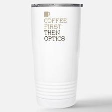 Coffee Then Optics Stainless Steel Travel Mug