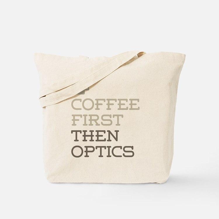 Coffee Then Optics Tote Bag
