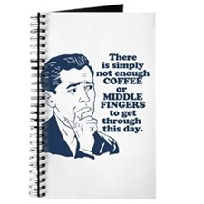 Coffee And The Middle Finger Journal