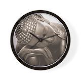 Sleeping buddha Wall Clocks