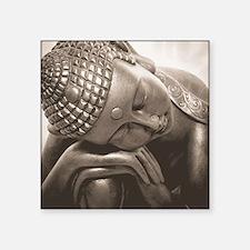 "Thai Buddha Square Sticker 3"" x 3"""