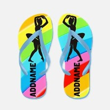 Delightful Dancer Flip Flops