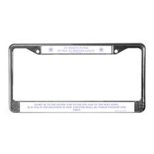 Ichthus Trinity License Plate Frame
