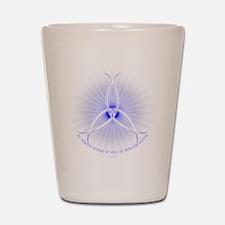 Ichthus Trinity Shot Glass