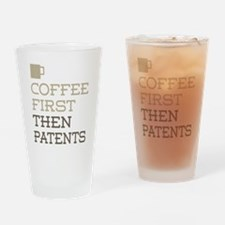 Coffee Then Patents Drinking Glass