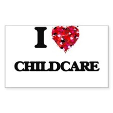 I love Childcare Decal