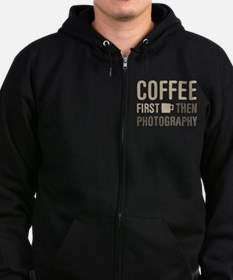 Coffee Then Photography Zip Hoodie