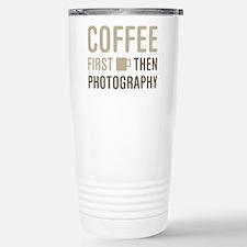 Coffee Then Photography Travel Mug