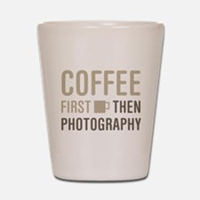 Coffee Then Photography Shot Glass