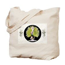 B'fly Lady Peacock Beauty Rivals Tote Bag