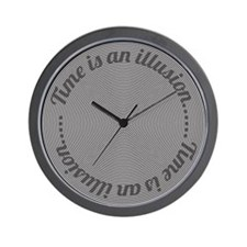 Time is an Illusion Clock Wall Clock