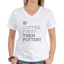 Coffee Then Pottery T-Shirt