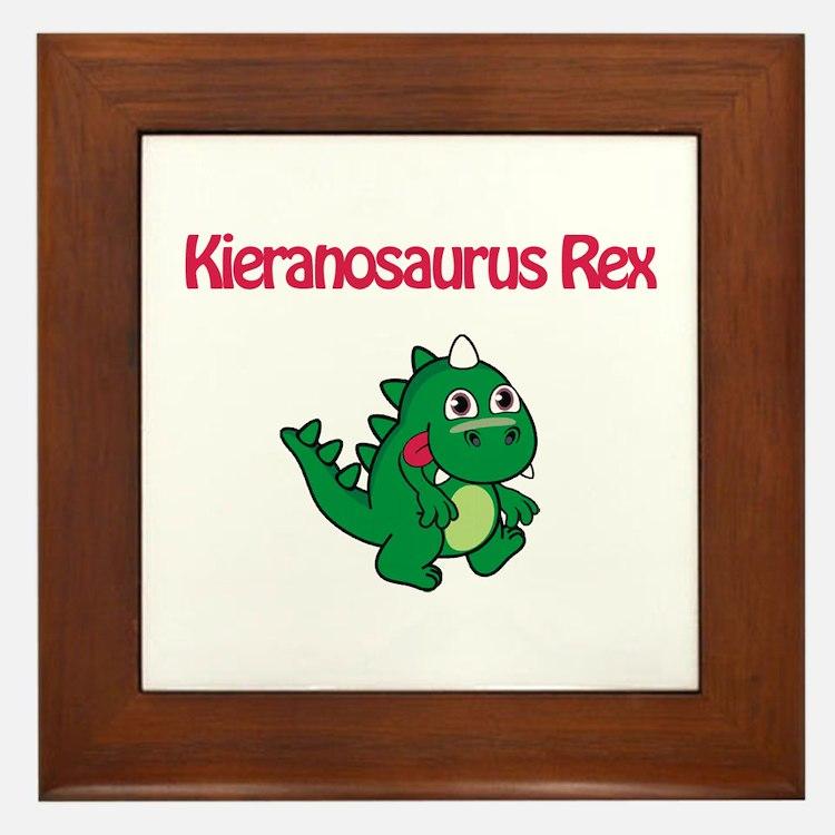 Kieranosaurus Rex Framed Tile