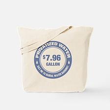 No Global Water Barons! Tote Bag