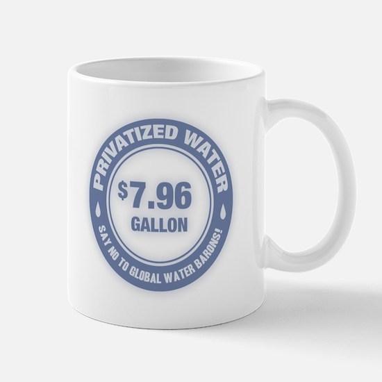 No Global Water Barons! Mug
