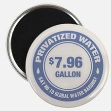 No Global Water Barons! Magnet