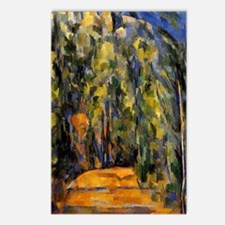 Cezanne - Bend in the For Postcards (Package of 8)