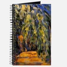 Cezanne - Bend in the Forest Road Journal