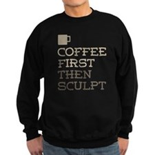 Coffee Then Sculpt Jumper Sweater