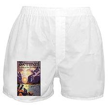 Vintage Travel Poster Norway Boxer Shorts
