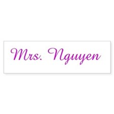 Mrs. Nguyen Bumper Bumper Sticker