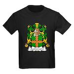Autremont Family Crest Kids Dark T-Shirt
