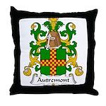 Autremont Family Crest Throw Pillow
