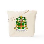 Autremont Family Crest Tote Bag