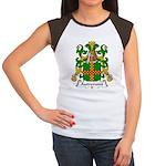 Autremont Family Crest Women's Cap Sleeve T-Shirt